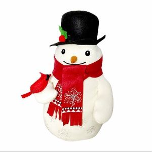 "Hallmark Felt & Knit Frosty the Snowman 15.5"" tall"